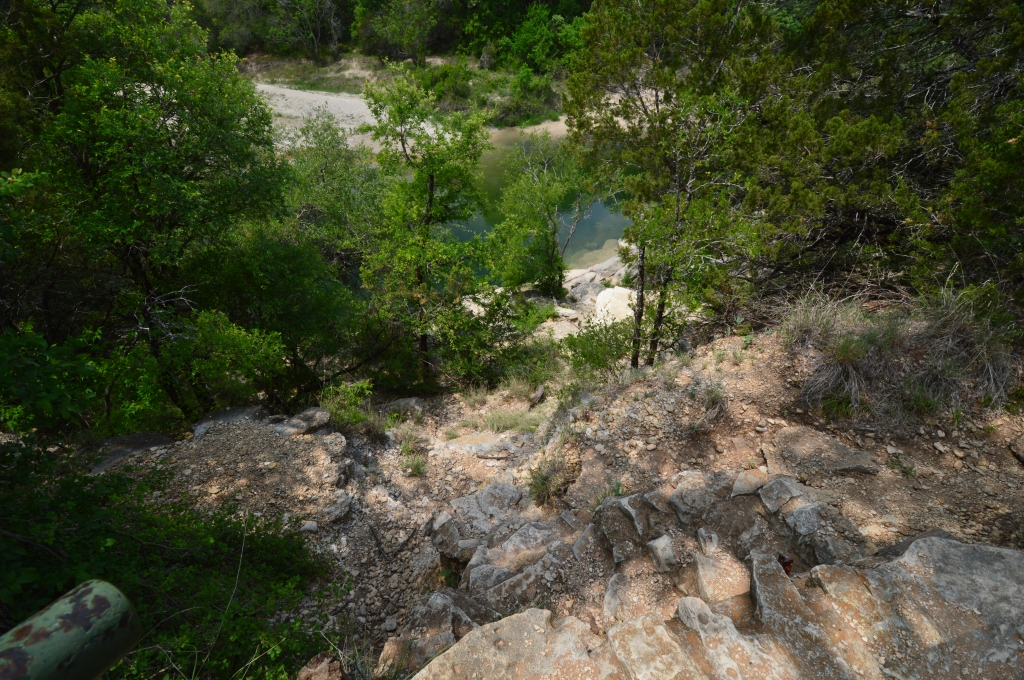 The Blue Hole Site